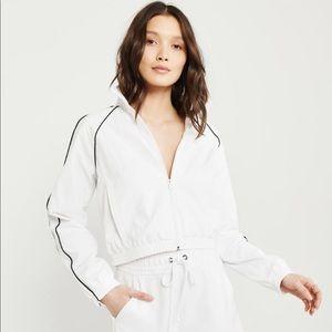 NWT White Zip-Up Jacket